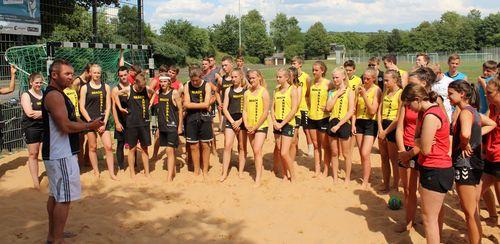 Sichtungsturnier der Auswahl Handball Baden-Württemberg e.V. zur Teilnahme an der Deutschen Jugendmeisterschaft im Beach-Handball