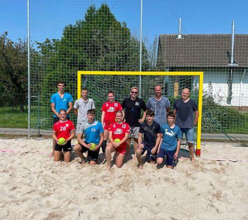 """""""Baden-Sand-Sharks"""" absolvieren Beach-Training in Neureut"""