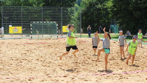 Pilotprojekt Mini Beach Handball